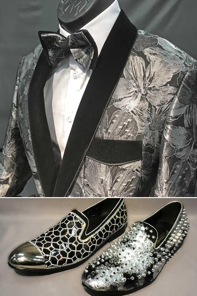 Men's Suits & Tuxes and Shoes