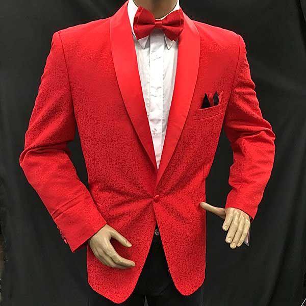 Men In Style Orlando Red Jacket