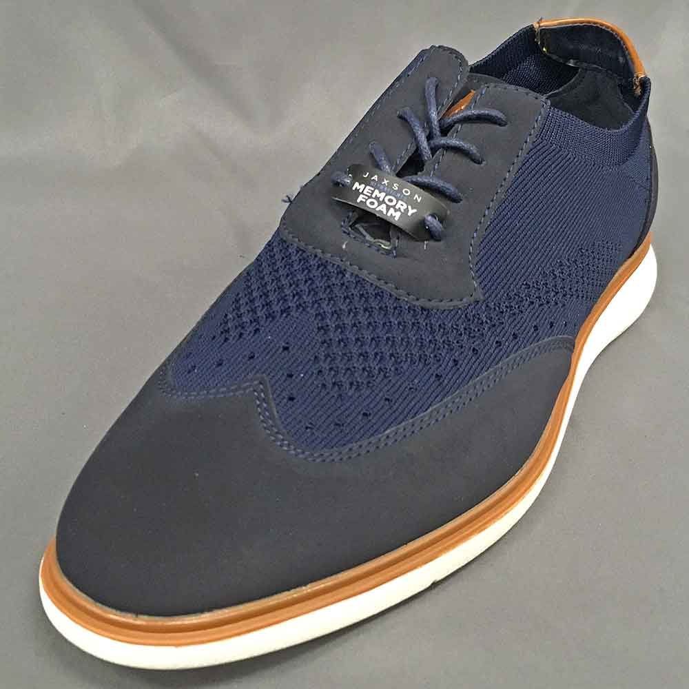 Men's casual shoe blue Jaxson
