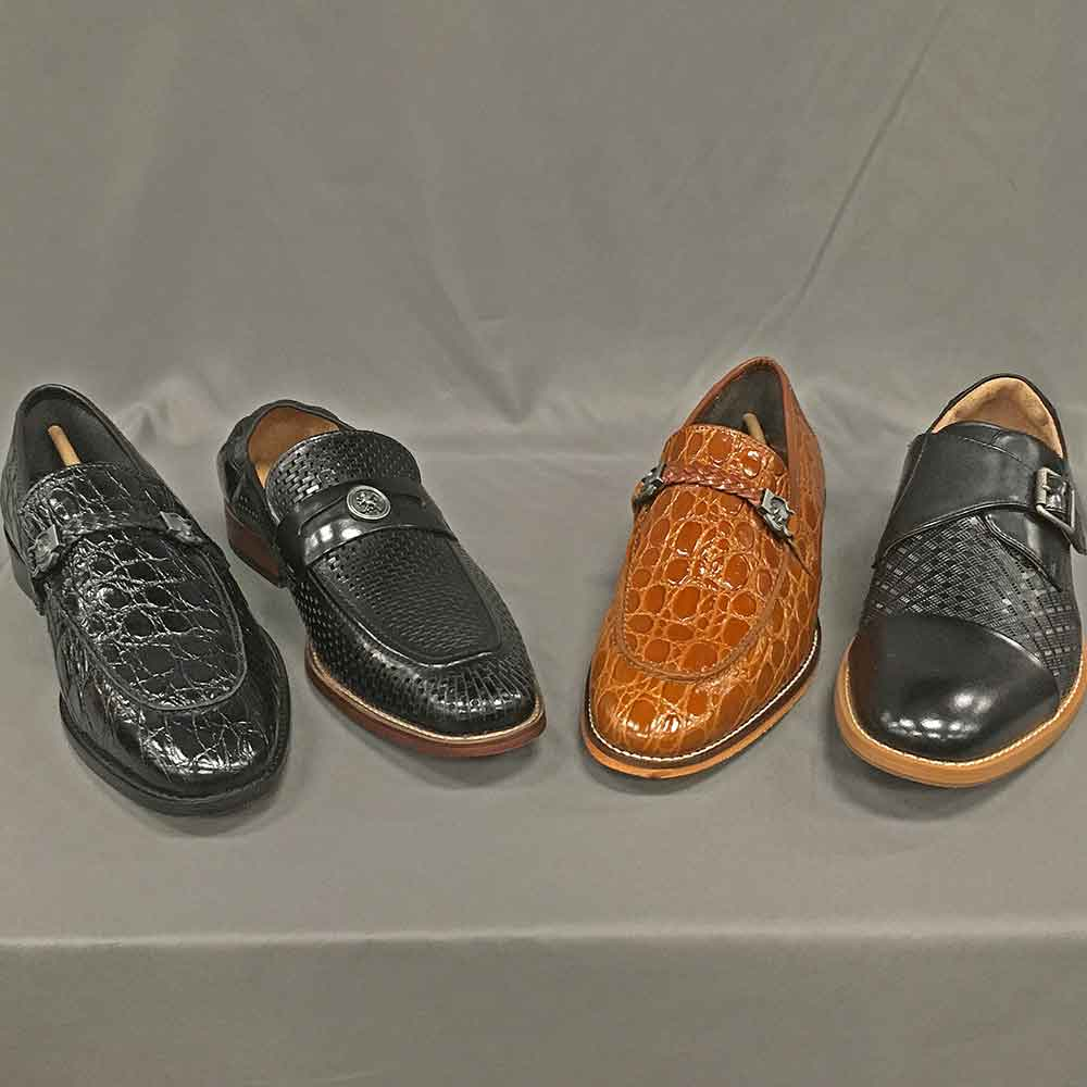 Men's dress shoes black and brown