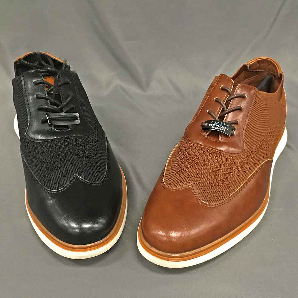 Men's dress hoes black and brown