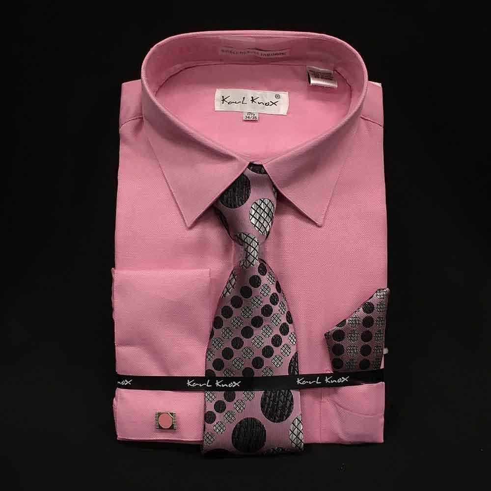 Men In Style Orlando Shirts - pink dress shirt