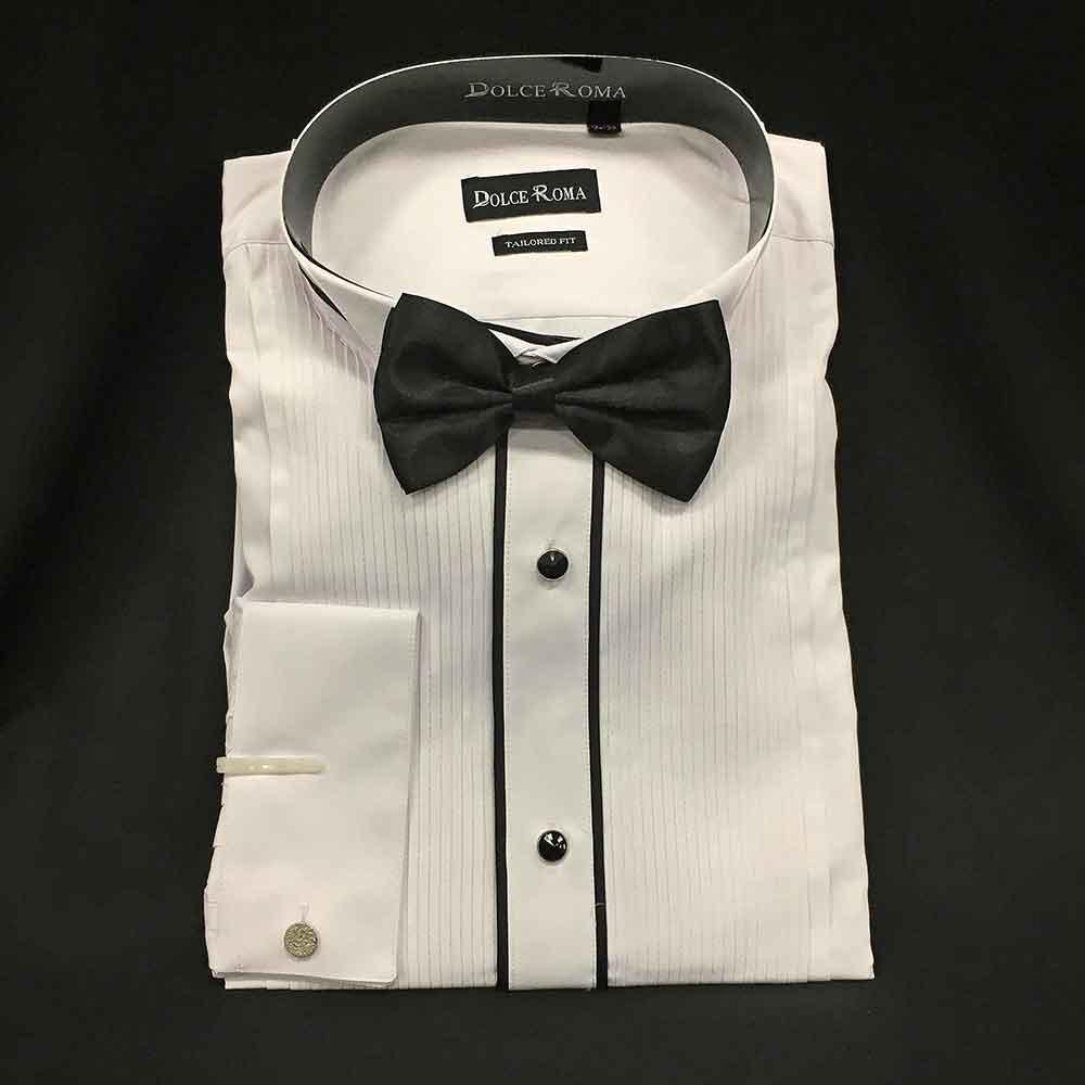 Men In Style Orlando Shirts - Tuxedo dress shirt