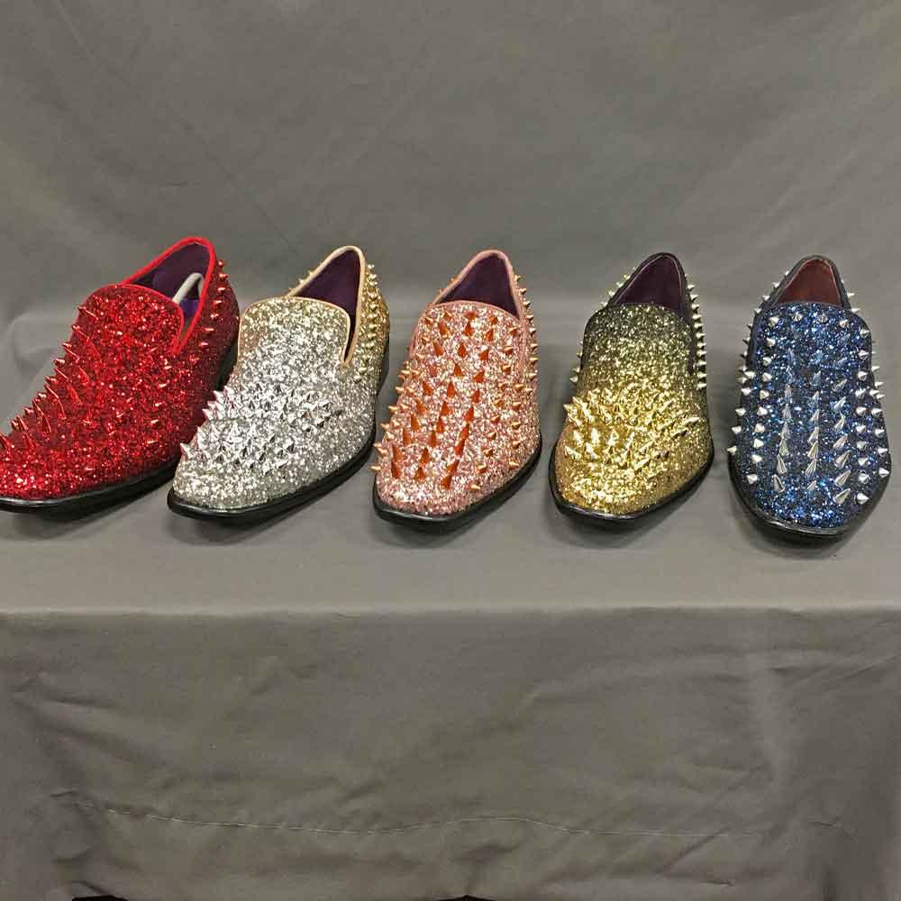 Men's Dress shoes spikes