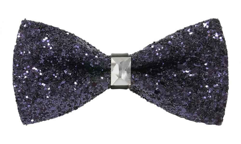 Fancy Bow Tie - Purple