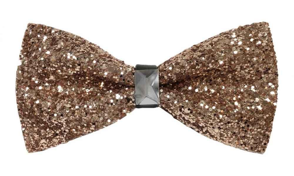 Fancy Bow Tie - Gold