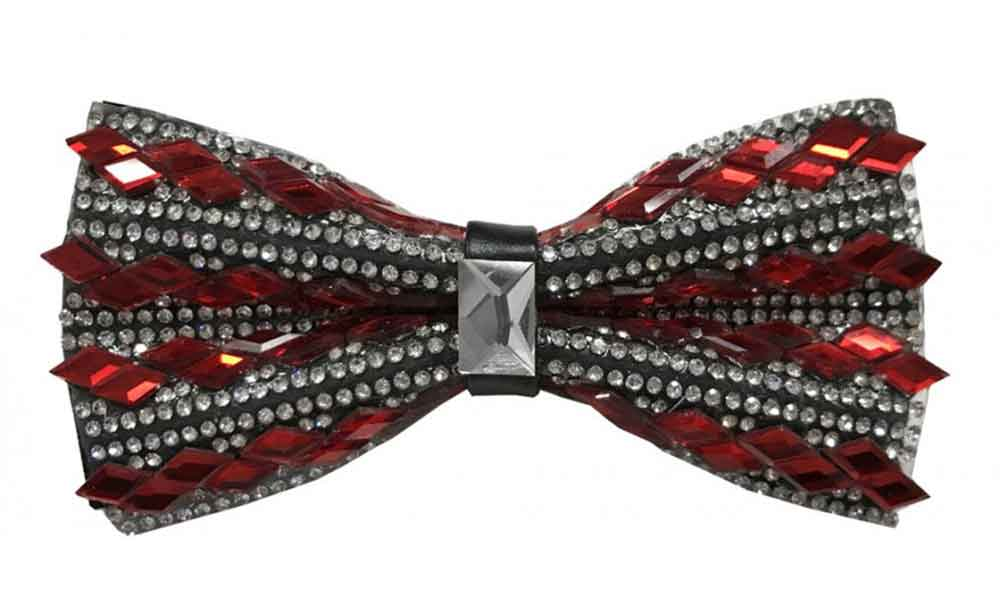 Fancy Bow Tie - Red