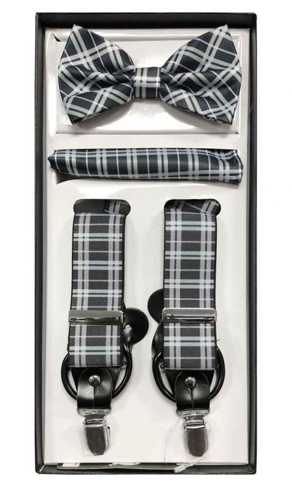 Suspender Set - Black