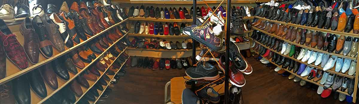 Men In Style Orlando Shoes on Rack